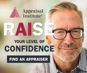 Ad: RAIse Your Level of Confidence: Find an Appraiser.