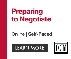 Ad: Sign up for CCIM Institute's course