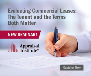 Ad: Appraisal Institute