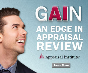 Advertisement: Appraisal Institute