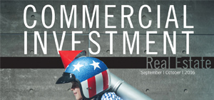 Commercial Investment Real Estate | September October 2016 cover